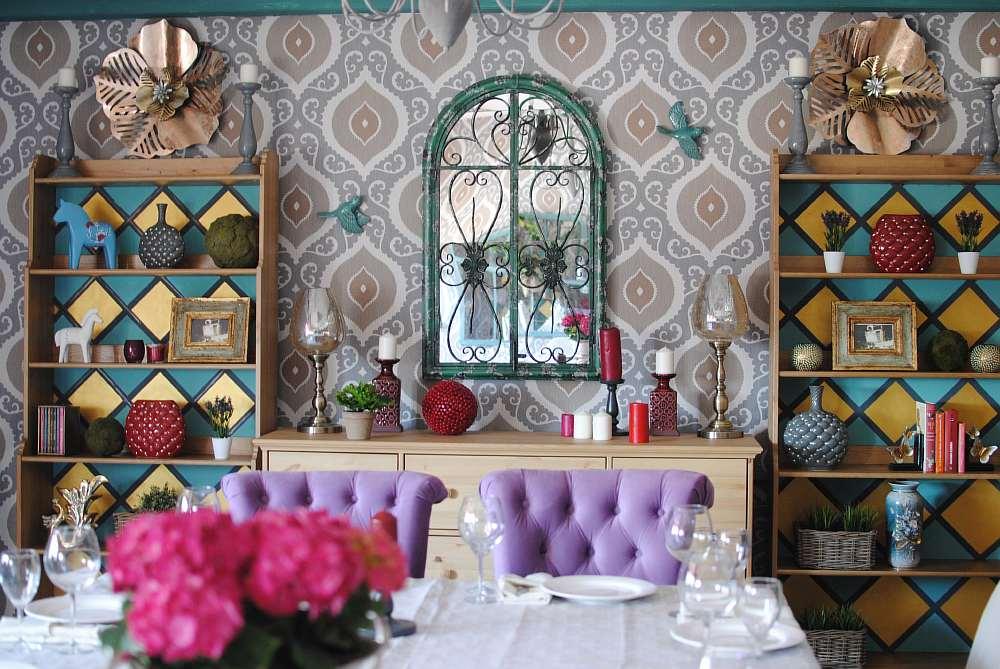 Банкетный зал ресторана Cavalli